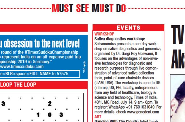 Featured in #BangaloreTimes